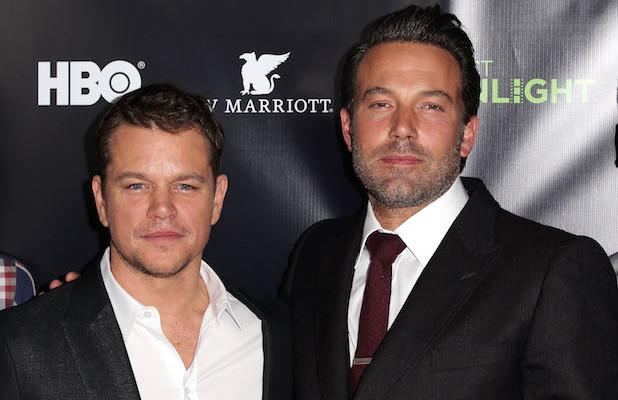 Matt Damon y Ben Affleck producirán una película sobre los escándalos de la FIFA