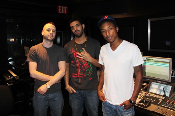 Apple quiere fichar a Pharrell, David Guetta y Drake para su nuevo servicio de streaming