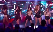 Fifth Harmony y Kid Ink interpretan 'Worth It' en Jimmy Kimmel Live!