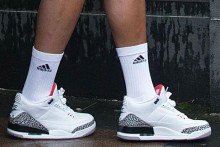 Cristiano Ronaldo no se preocupa por llevar Adidas y Nike al mismo tiempo