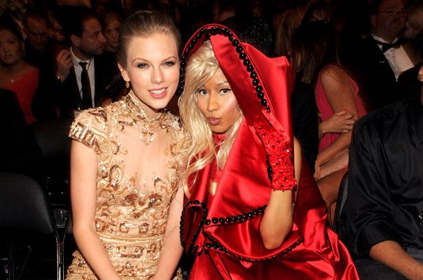 Nicki Minaj y Taylor Swift se pelean por los VMAs Awards