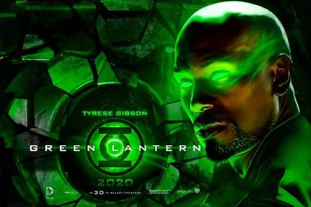 Tyrese Gibson confirma una reunión con Warner Bros. para aparecer en 'Green Lantern Corps'