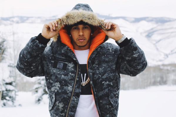 Lewis Hamilton quiere empezar su carrera musical junto a Drake