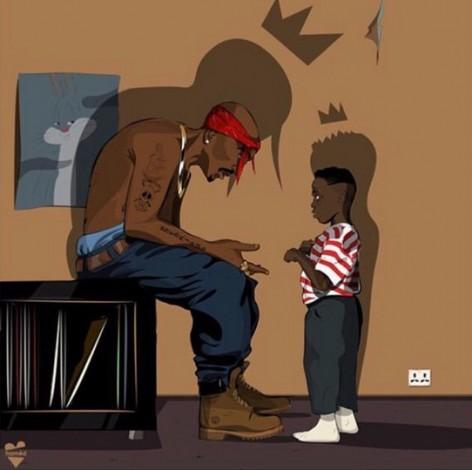 Lee la carta que escribió Kendrick Lamar a Tupac
