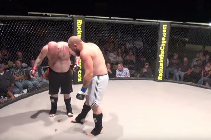 El machote de la MMA que se hizo popó encima. Esta es su historia