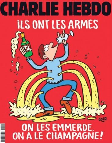 Ésta es la nueva portada de Charlie Hebdo