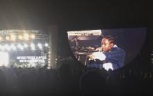 Kendrick lamar sube a un fan a rapear un tema con él, pero se le olvida la letra y se pone a improvisar