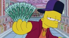 Mira a Bart Simpson convertirse en Drake con 'Started From The Bottom'