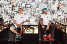 Chopsticks & Dope Kicks: un menú creado a base de sneakers
