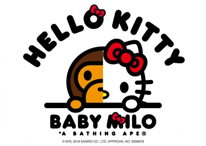 Baby Milo y Hello Kitty juntos en una nueva colección cápsula