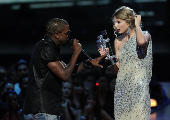 Kanye West vs. Taylor Swift: 3, 2, 1… ¡Fight!