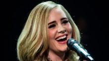 Adele baila «twerk» durante un concierto en Londres