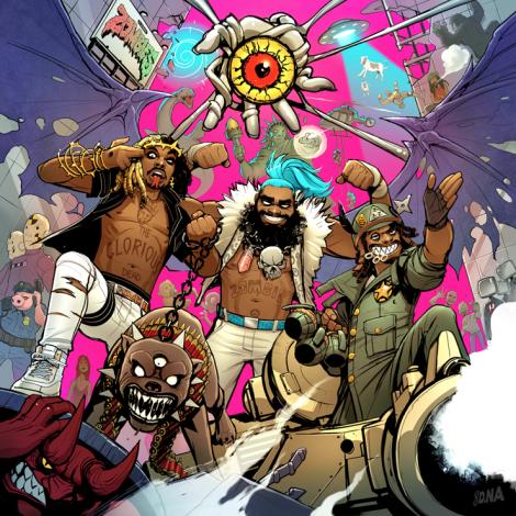 Pégale una escucha al nuevo disco de Flatbush Zombies '3001: A Laced Odyssey'
