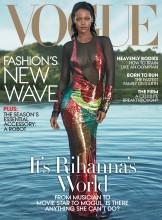 Rihanna posa así de espectacular para Vogue