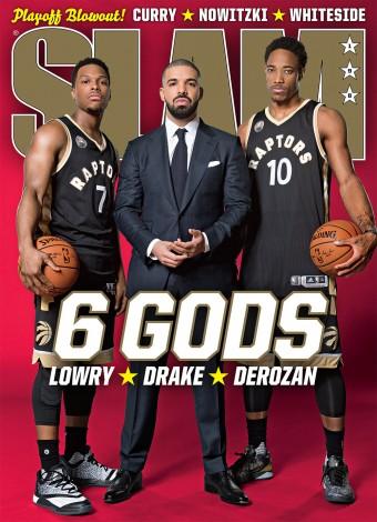 Drake es portada del último ejemplar de SLAM Magazine
