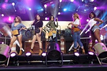 Fifth Harmony pone patas arriba Jimmy Kimmel Live! con 'Work From Home'