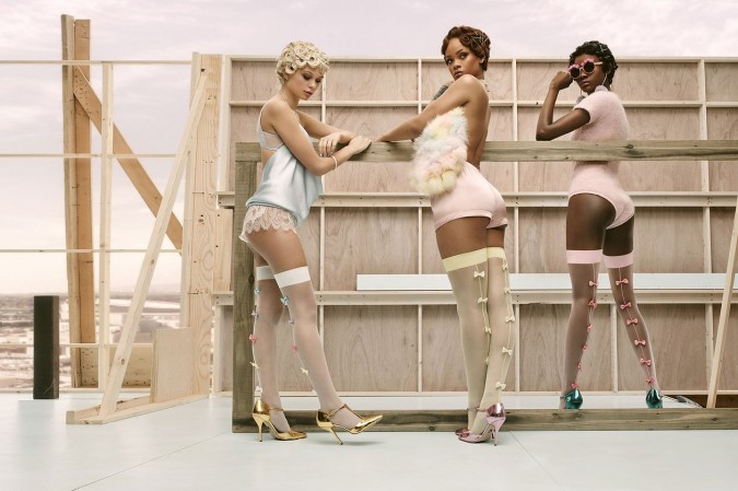 Os presentamos 'The Rihanna x Stance Summer collection'