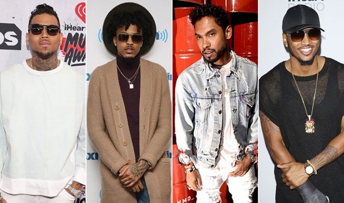 Chris Brown – Back To Sleep (feat. August Alsina, Miguel & Trey Songz) (Remix)