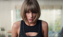 Taylor Swift a ritmo de 'Jumpman' en el anuncio de Apple Music