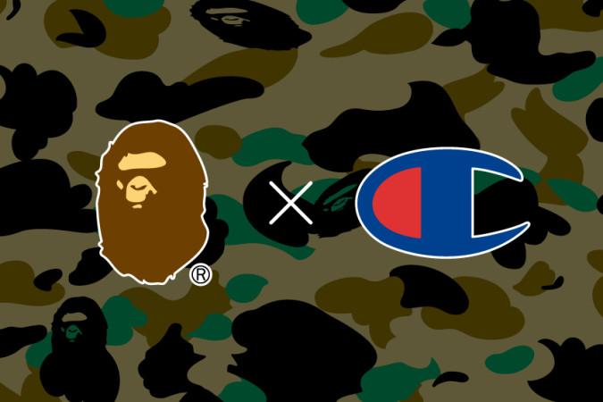 BAPE y Champion se unen en una nueva colaboración