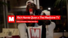 ¡Entrevistamos a Rich Homie Quan en #TheMedizineTV!
