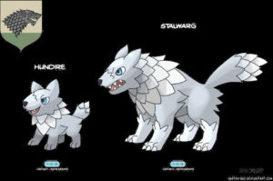 ¿Cómo serían las casas de 'Juego de Tronos' en versión Pokemon?