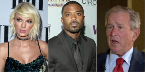 Taylor Swift, Bush y Ray J reaccionan al vídeo de 'Famous' de Kanye West