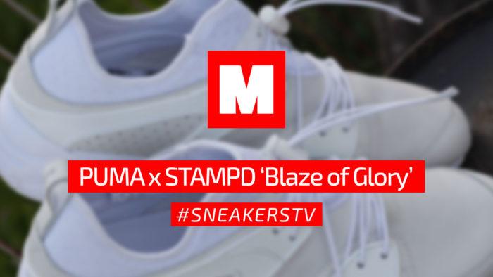 Review Puma x Stampd 'Blaze of Glory' #SneakersTV
