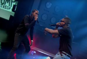 YG y Nipsey Hussle interpretan 'FDT' en el show de Larry Wilmore