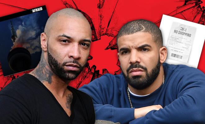 Drake responde a Joe Budden con 'No Shopping' y éste contraataca con 'Afraid'