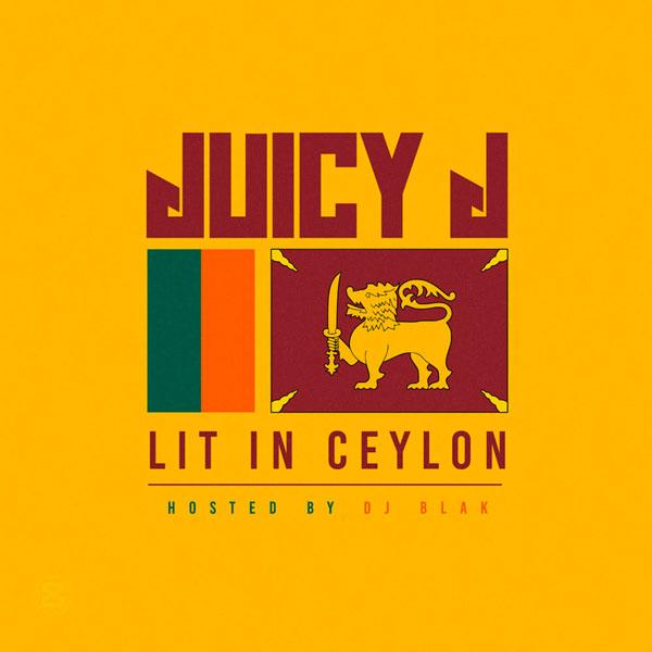 Juicy J presenta su nueva mixtape 'Lit In Ceylon'