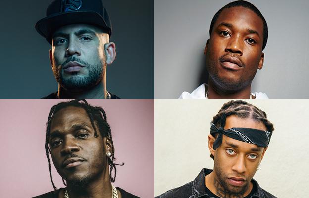 DJ Drama forma un póker de lujo en 'Boyz In The Hood' con Meek, Pusha T y Ty Dolla $ign