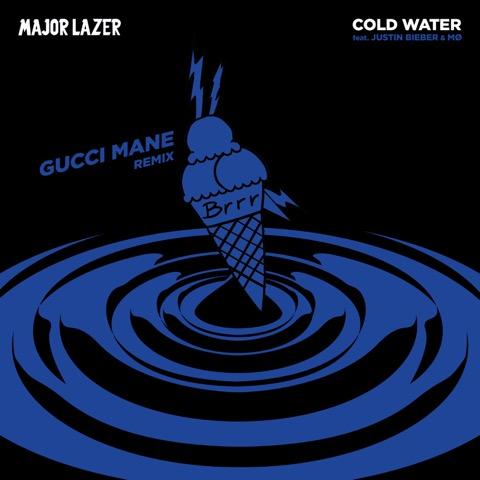 Gucci Mane se une a Justin Bieber en 'Cold Water Remix'