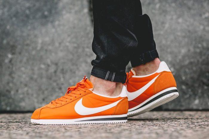 plato Trampas partícipe  Nike Cortez Nylon – Clay Orange' es lo último de Nike para el otoño