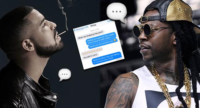 2 Chainz anuncia su nueva mixtape a través de una conversación con Drake
