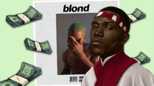¿Cuánto dinero ha generado Frank Ocean con 'Blonde' desde su estreno?