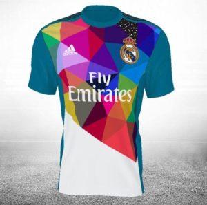 Okuda diseña la tercera equipación del Real Madrid