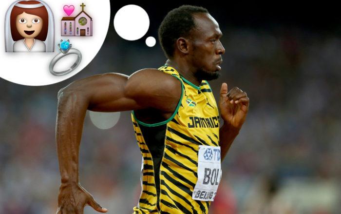 La mujer de Usain Bolt le va a poner a correr más que las olimpiadas