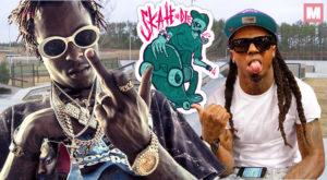 Lil Wayne no es rival para Rich The Kid sobre un skate