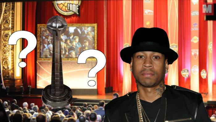 Iverson olvida su trofeo del Hall of Fame en un hotel