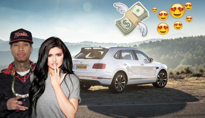 Kylie Jenner le ha regalado a Tyga un Bentley de 300.000 dólares