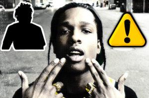 A A$AP Rocky se le escapa el nombre del nuevo fichaje de Interscope