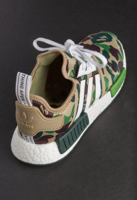 bape adidas nmd r1 details 05 550x800 481x700 - Por fin tenemos fecha de salida para las A Bathing Ape x Adidas Originals