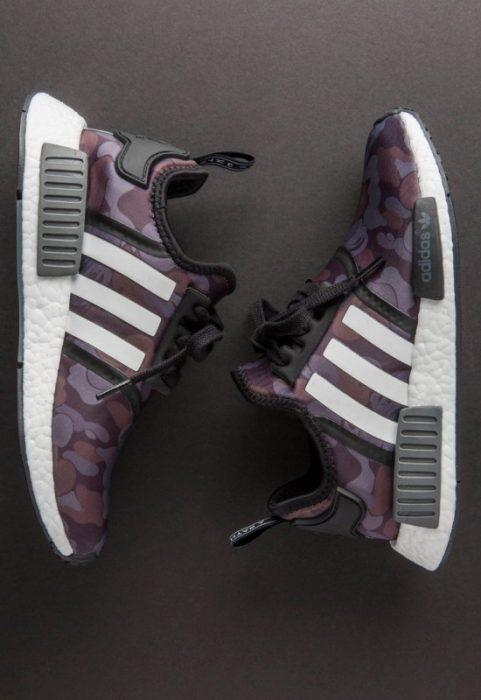 bape adidas nmd r1 details 10 550x800 481x700 - Por fin tenemos fecha de salida para las A Bathing Ape x Adidas Originals