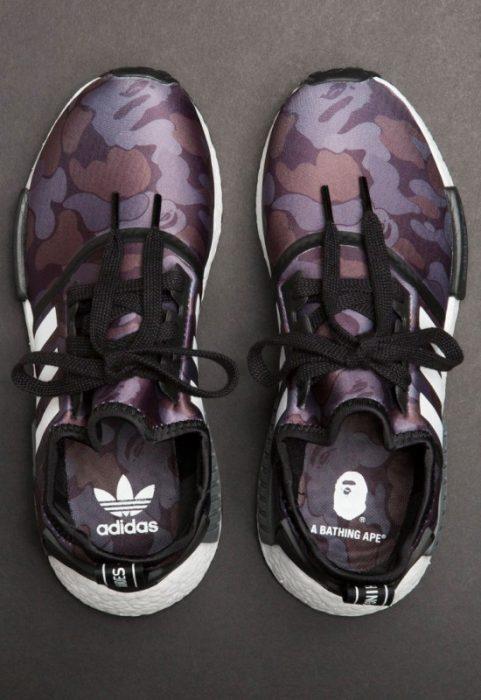 bape adidas nmd r1 details 13 550x800 481x700 - Por fin tenemos fecha de salida para las A Bathing Ape x Adidas Originals