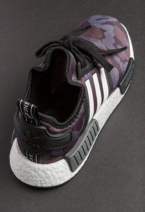 bape adidas nmd r1 details 14 550x800 481x700 - Por fin tenemos fecha de salida para las A Bathing Ape x Adidas Originals