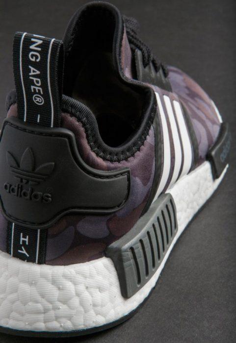 bape adidas nmd r1 details 15 550x800 481x700 - Por fin tenemos fecha de salida para las A Bathing Ape x Adidas Originals