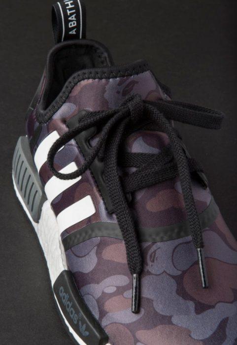 bape adidas nmd r1 details 17 550x800 481x700 - Por fin tenemos fecha de salida para las A Bathing Ape x Adidas Originals