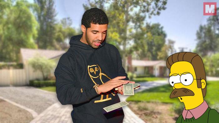 Drake ha comprado la casa de su vecino «por quejarse del ruido»