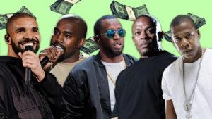 ¿Cuál es el rapero con más ingresos en 2016?